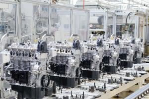 写真:自動車産業用ロボットシステムのイメージ写真